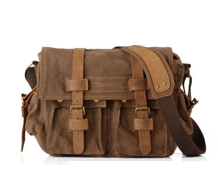 Чоловіча сумка месенджер Augur коричневого кольору