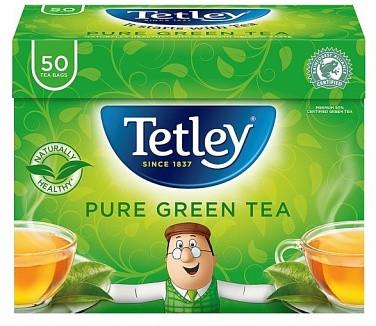 Чай Tetley Green Teabags 50s