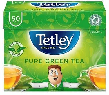 Чай Tetley Green Teabags 50s, фото 2