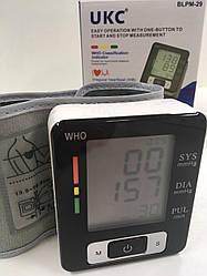 Автоматический тонометр для измерения давления и пульса UKC BLPM-29