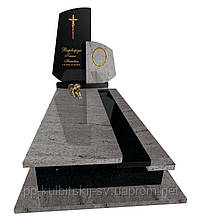 Пам'ятник гранітний Елітний одинарний Р 5041