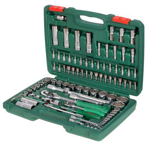 """Инструмент HANS. Набор торц. головок 1/4""""DR4-14мм и 1/2""""DR10-32 мм,94 предм. (TK-94)"""