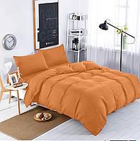 Подростковый комплект постельного белья Сатин Премиум Медовый