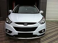 Кенгурятник Hyundai Ix-35 (10+) - ус одинарный