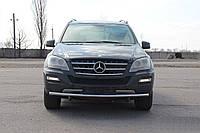 Кенгурятник Mercedes ML 164 (05-11) - ус одинарный , фото 1