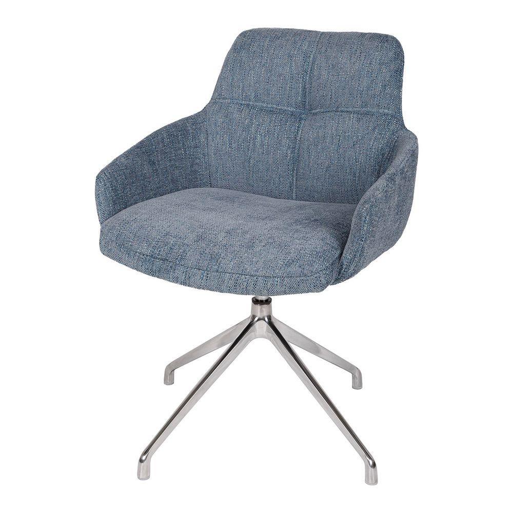 Кресло поворотное OLIVA (Олива) синий от Niсolas