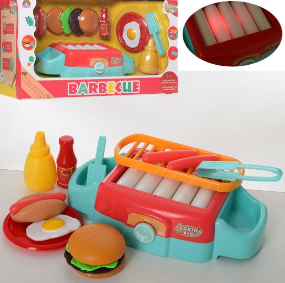 Плита 6221 - детский игровой набор для гриля
