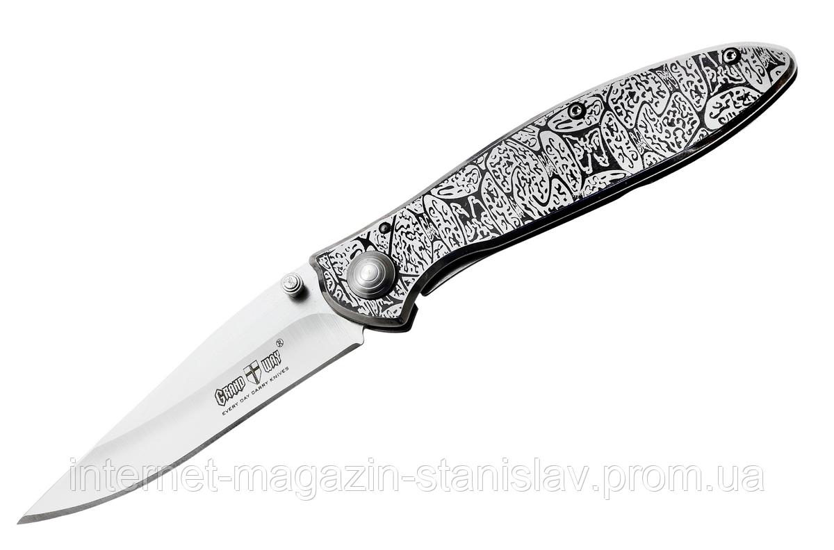 Нож складной GRAND WAY 01785