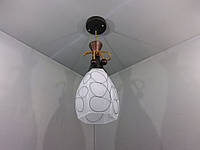 Люстра потолочная подвесная на 1 лампочку (38х16х16 см.) Коричневый YR-8990/1