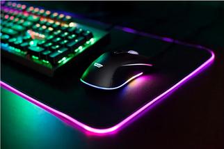 Игровая поверхность, коврик RGB Gaming Mouse Pad c подсветкой 780 x 300 мм, фото 2