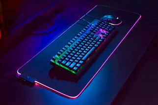 Игровая поверхность, коврик RGB Gaming Mouse Pad c подсветкой 780 x 300 мм, фото 3