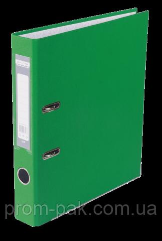 Реєстратор одност. JOBMAX А4, 50мм PP, зелений, збірний