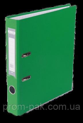 Реєстратор одност. JOBMAX А4, 50мм PP, зелений, збірний, фото 2