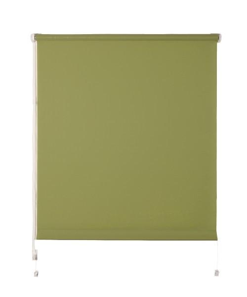 Рулонная штора De zon Leen Mini 25х150 см оливковая