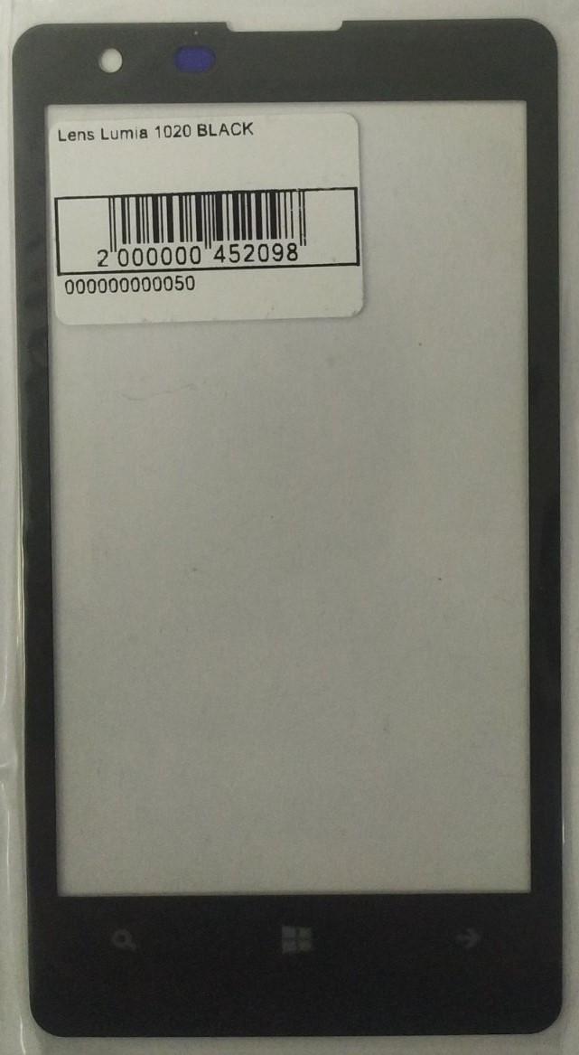 Скло модуля для Lumia 1020 Black