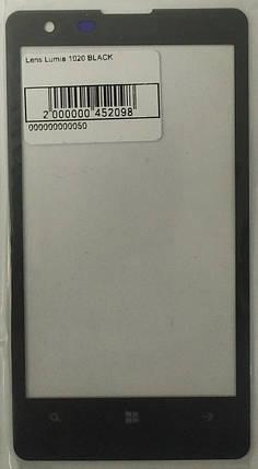 Скло модуля для Lumia 1020 Black, фото 2