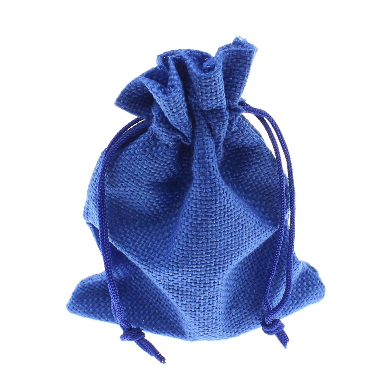 """Мешочек подарочный """"Ткань синий однотонный 14х10 см"""""""