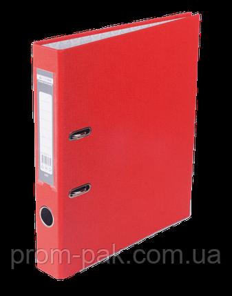Реєстратор одност. JOBMAX А4, 50мм PP, червоний, збірний, фото 2