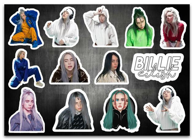 Стикерпак Билли Айлиш, Billie Eilish #266