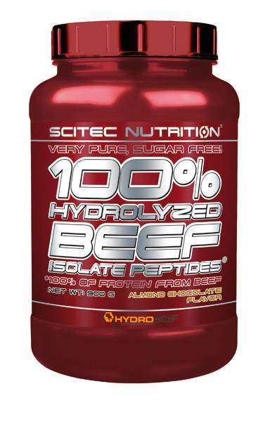 100% HYDRO BEEF PEPTID Scitec Nutrition 900г