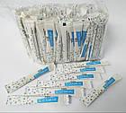 Сахар в стиках 5г БЕЛЫЙ (нейтральный рисунок)  200шт/уп (12уп в мешке), фото 2