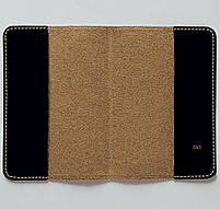 """Обкладинка на паспорт """"Дуло револьвера"""", Обложка для паспорта экокожа """"Дуло револьвера"""" 693, фото 3"""