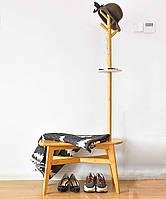 """Стойка вешалка для одежды """"Ардино"""" ваниль, фото 1"""