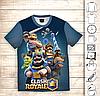 Футболка 3D дитяча Clash Royale Heroes