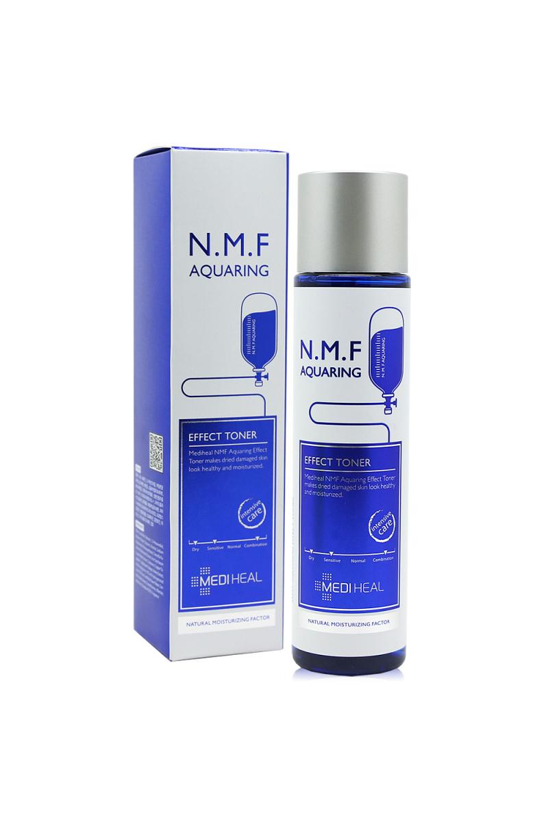 Тонер с натуральным увлажняющим фактором N.M.F MEDIHEAL N.M.F Aquaring Effect Toner, 145 мл