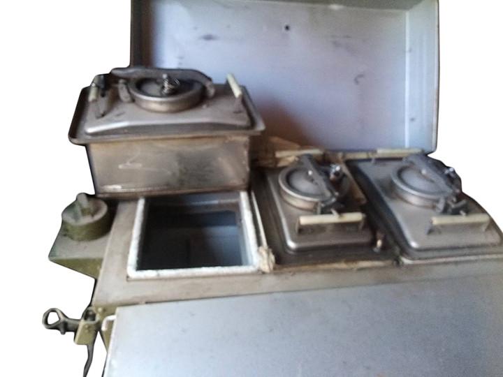 Кухня полевая переносная кп 30 на три котла
