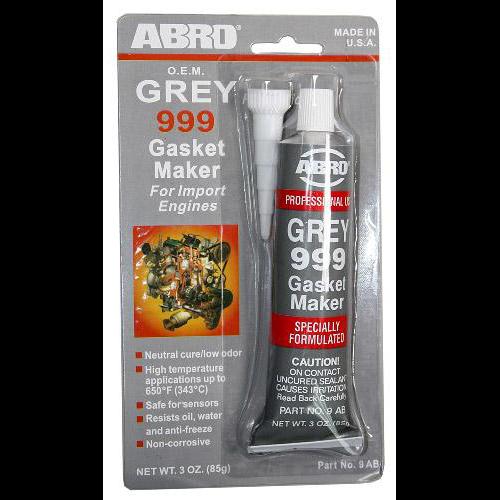 ABRO Герметик прокладки GREY (85гр) original