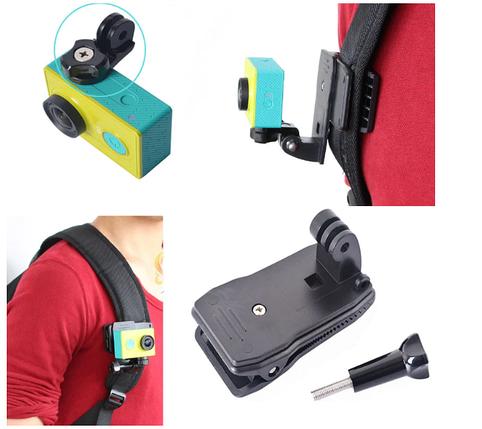 Универсальная клипса на портфель для экшен-камеры Xiaomi Quick Clip, фото 2