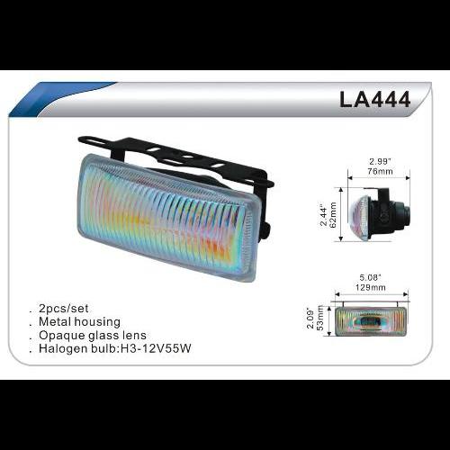 Фары дополнительные DLAA 444 RY/H3-12V-55W/129*53mm
