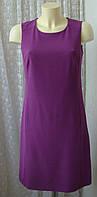 Платье женское элегантное с вискозой до колен бренд Hobbs р.44