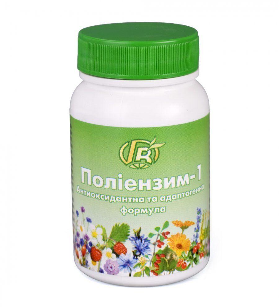 Полиэнзим - 1: Антиоксидантная формула, Грин Виза, 280 г