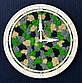 Часы настенные из дерева и Норвежского мха (35 см). Настольные часы., фото 8