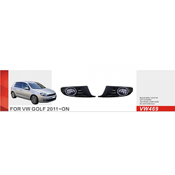 Фары дополнительные модель VW Golf 2011-/VW-469W