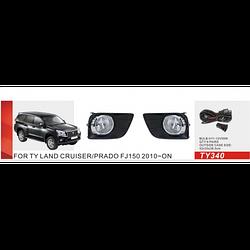 Фары дополнительные модель Toyota Prado 150 2010-/TY-340-W/эл.проводка