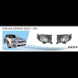 Фары дополнительные модель KIA Cerato 2007/KA-274W