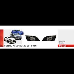 Фары дополнительные модель Chevrolet Aveo/2012-/CV-525W