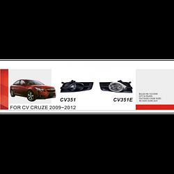 Фары дополнительные модель Chevrolet Cruze 2009-/CV-351E-W