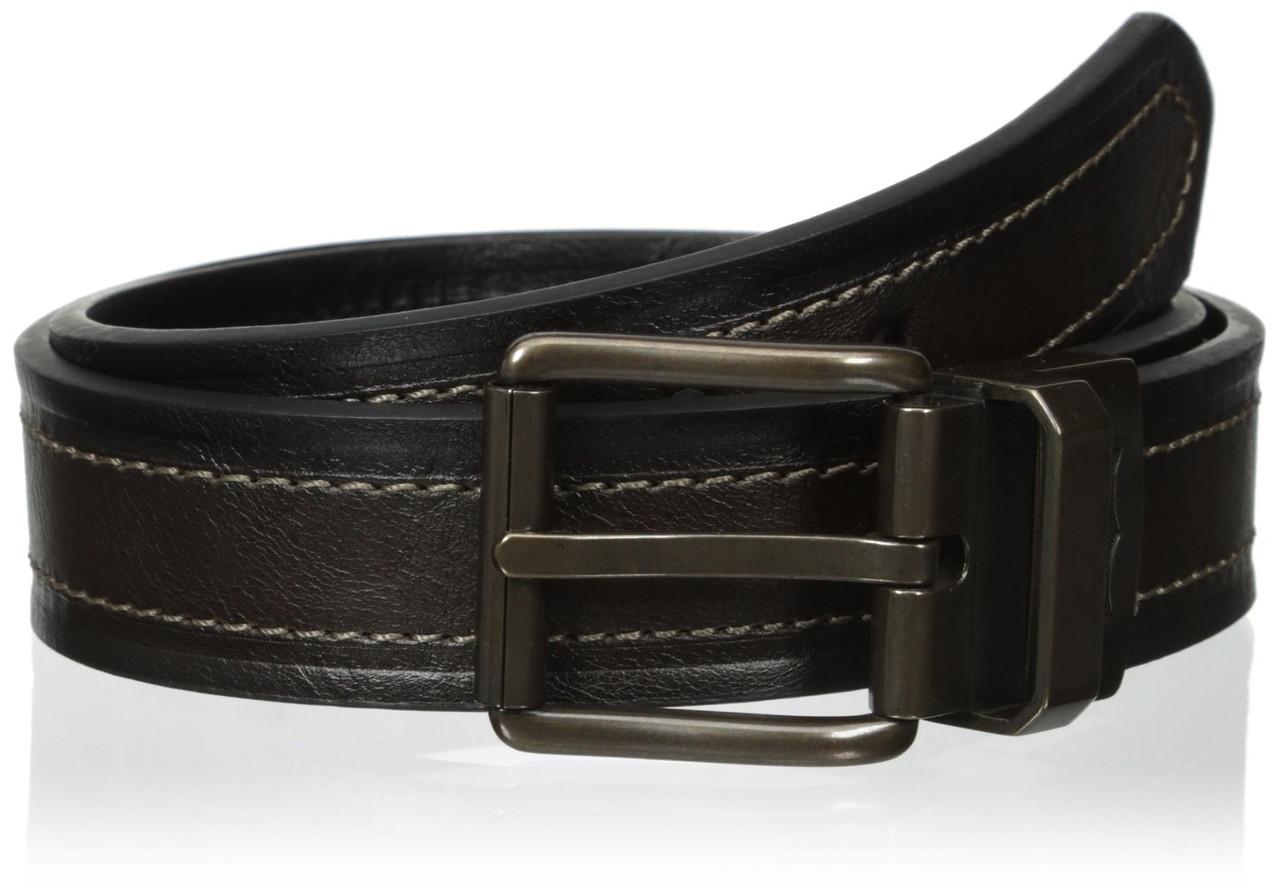 Ремень Levi's Men's Reversible Double Stitch Bridle Belt NEW