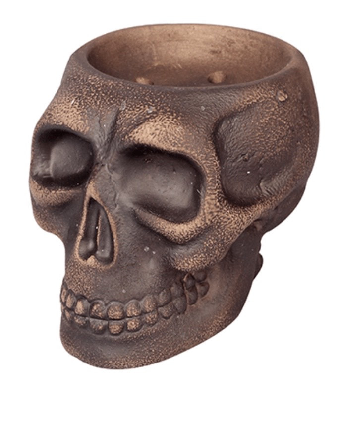Чаша для кальяна Werkbund WSE (Веркбунд) - Skull (Череп), черный