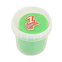 Пластилиновая паста Веселое тесто, 150 г, зеленая    код: 540538