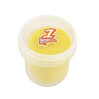 Пластилиновая паста Веселое тесто, 150 г, желтая     код: 540539