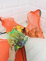 Эко мешочки для продуктов, овощей и фруктов,  6 шт в комплекте