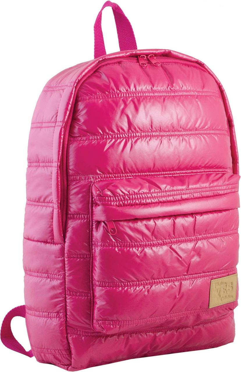 Рюкзак городской прогулочный YES ST-15 малиновый , 39*27.5*9 код: 553947