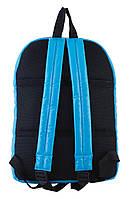 Рюкзак городской прогулочный YES ST-15 голубой, 39*27.5*9 код: 553949, фото 4