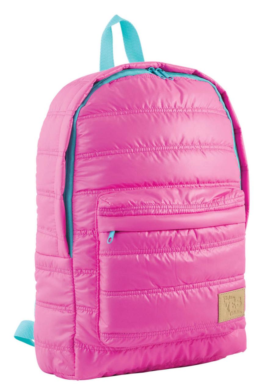 Рюкзак городской прогулочный YES ST-15 розовый 09, 39*27.5*9 код: 553953