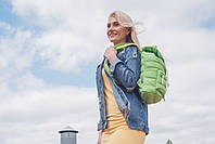 Рюкзак городской прогулочный YES ST-14 лайм 11, 39*27.5*9 код: 553957, фото 6